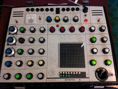 MATRIXSYNTH: EMS 'SYNTHI A' Synthesizer SN 4042