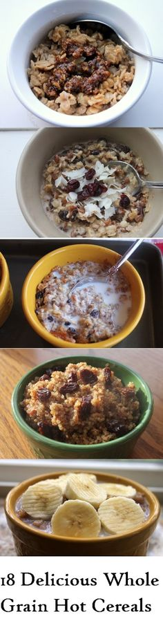 Grain Crazy: 18 Delicious Whole Grain Hot Cereals