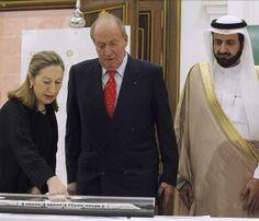El Rey Juan Carlos anima a Arabia Saudí a seguir colaborando con España #realeza #royalty