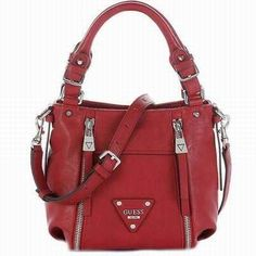 12d747e89f sac a main rouge tendance,sac guess luxe rouge,sac rouge desigual .