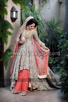 Latest Beautiful Walima Bridal Dresses Collection (8)
