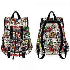 Backpack - Marvel Comics - Sublimated Knapsack New Toys School Bag kq2rrcmvl *** Continue to the product at the image link.(It is Amazon affiliate link) #LoveForMarvel School Bags, Marvel Comics, Backpack, Bag Pack, Travel Backpack, Backpacks