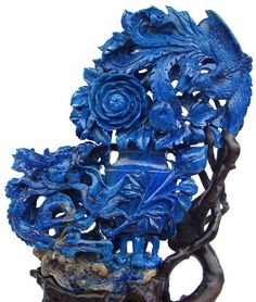 Lapis Lazuli from Afghanistan Minerals And Gemstones, Rocks And Minerals, Bijoux Lapis Lazuli, Sculptures, Lion Sculpture, Turquoise, Teal, Agate, Rocks And Gems