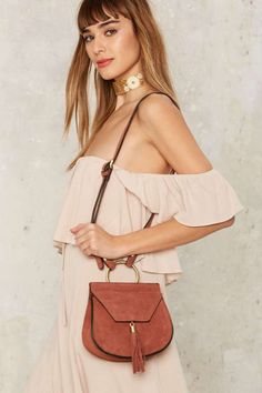 All For the West Suede Crossbody Bag   Shop Accessories at Nasty Gal!