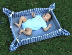 Take+away+baby++Mat++Blue+by+bubabella+on+Etsy,+$40.00
