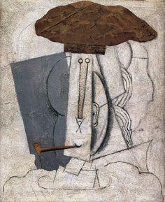 Pablo Picasso - Etudiant à la Pipe, 1914