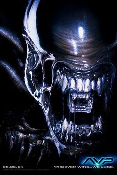 POSTER - ALIEN VS PREDATOR (TEASER 1) - teaser poster; AVP: Alien vs. Predator…