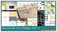 free printables, printables, collection of free printables