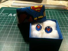 Selfmade Superman cufflinks