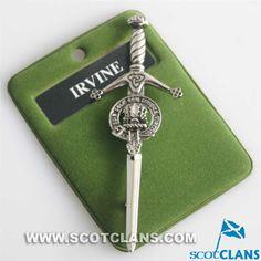 Irvine Clan Crest Ki