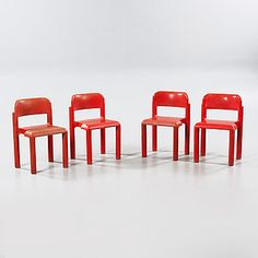 EERO AARNIO, Four chairs designed by Eero Aarnio for Upo Oy in Finland, made in the fourth quarter of the 20th century. - Bukowskis