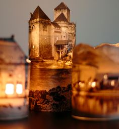 Awesome DIY Lamp Idea: A Miniature Ancient Town
