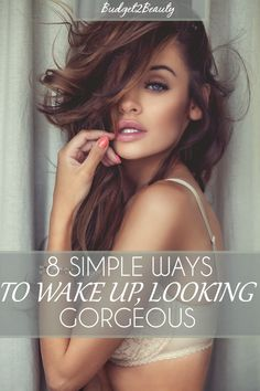 8 Simple Ways To Wake Up, Looking Gorgeous! While Sleeping Beauty had the right idea and a heck of a good deal for sleeping 100 years! There is still hope for us mere mortals to achieve ultimate chicness, while everyone else is busy dreaming away, you'll be tackling the best of both worlds in just half the time! See how you can take your beauty routine to a whole new level ladies! ((: