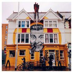 Brighton street art / graffiti: Presuming Ed