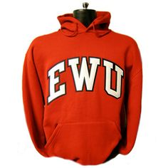 $45.00 EWU TT 2 COLOR HOOD - Must stay warm and show your eagle pride