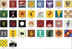This is a higher quality of vector files for the houses shown in Game of Thrones. I don't have ALL the houses here, these are all based off of what has actually appeared in the shown with the excep...