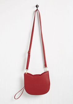 No Hard Felines Bag in Red, @ModCloth