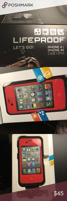 Lifeproof  iPhone 4s case In great condition, only been used once Other