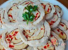 Nejlepší recepty na slané rolády – suroviny a varianty | NejRecept.cz Hummus, Camembert Cheese, Ethnic Recipes, Homemade Hummus
