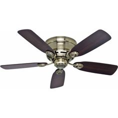 Hunter Oakhurst 52 Ceiling Fan New Bronze ** Details can be found by clicking on the image.