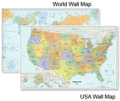 Won The National Award For Cartography One Of The Finest Framed US - Framed us wall map