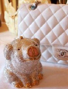Judith Leiber handbag