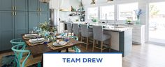 Episode 2: Kitchen & Dining Coastal Kitchens, Lake Decor, Kitchen Dining, Cottage, Home, Cottages, Ad Home, Homes, Cabin