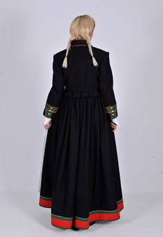 "Aust-Agder ""Åmli""   Norske Bunader Costume Ideas, Costumes, Going Out Of Business, Line S, Folk Costume, Norway, American Girl, Vikings, Cold Shoulder Dress"