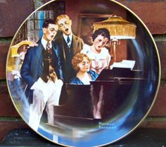 Vintage Ltd. Edition 1984 Norman Rockwell by PaintedOnPlaques, $16.00