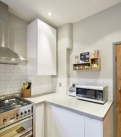 Concrete worktops and side table - West Bridgford - Polished Concrete Nottingham | Warrington and Rose