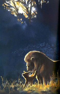 Series of the Lion King Concept Art