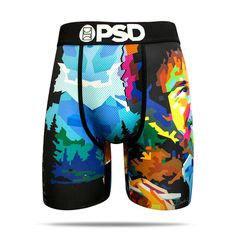 Affordable and comfortable designer men's boxer briefs from PSD Underwear. Shop our men's boxer brief collection for the latest styles. Bob Ross, Men's Boxer Briefs, Boxers, Shooting Guard, Compression Shorts, Mens Clothing Styles, Style Icons, Men Casual, Casual Outfits