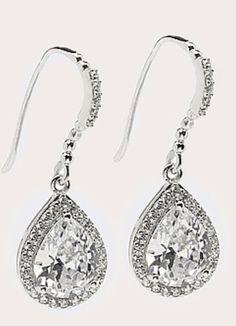 Diamantea orecchini pendenti a goccia 118816- Hse24.it.