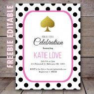 Kate spade bridal shower food polka dots 35 ideas for 2019 Disney Bridal Showers, Tropical Bridal Showers, Unique Bridal Shower, Printable Bridal Shower Games, Bridal Shower Invitations, Birthday Party Invitations, Birthday Parties, Birthday Games, Invites
