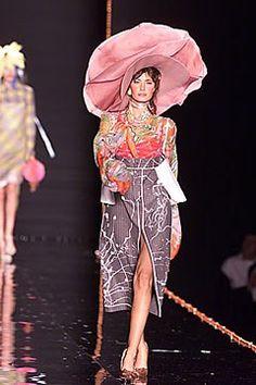 John Galliano Fall 2000 Ready-to-Wear Fashion Show - Rhea Durham (CITY), John Galliano