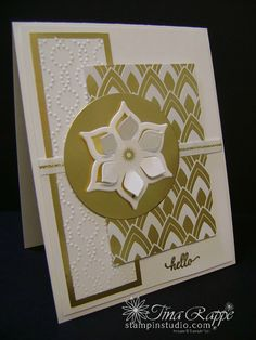 Stampin Up! Eastern Palace Suite, Eastern Medallion Thinlits, Eastern Beauty stamp set, Gold Vinyl Stickers, Stampin Studio