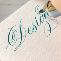 Calligraphy Fonts Alphabet, Copperplate Calligraphy, Learn Calligraphy, Penmanship, Calligraphy For Beginners, Calligraphy Tutorial, Hand Lettering Tutorial, Creative Lettering, Lettering Styles