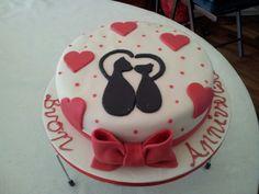 Annivesary cake/Torta per anniversario/  Valentine's day cake
