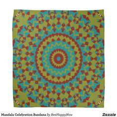 Mandala Celebration Bandana