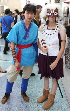 These two prove why Miyazaki characters will ALWAYS be timeless. | 25 Couples Who Totally Dominated Cosplay At Anime Expo