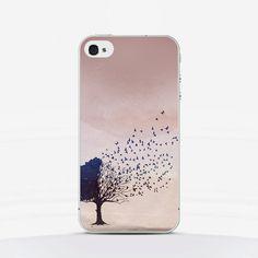 Phone Case Tree Birds  iPhone Samsung Galaxy Sony by laTrendmania, $16.00 #phonecase #backcase #vintage #treebirds #phoneaccessories
