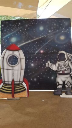 Outer Space Theme, Outer Space Party, Space Theme Decorations, Space Crafts For Kids, Alien Crafts, Astronaut Party, Galaxy Photos, Galaxy Theme, Star Wars Decor