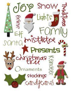 christmas printables...