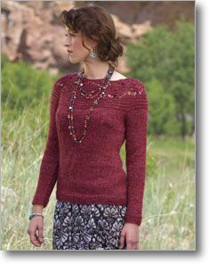 Tereza Pullover by Melissa LaBarre