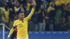 Neymar leads Brazil into men's soccer semifinals