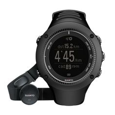 http://www.heartratewatchcompany.com/suunto-ambit-2r-black-hr-p/sa2-rbhr.htm - Suunto AMbit 2R is the new advanced running watch from Suunto. It offers real-time pace, distance and cadence with no foot pod. It also has advanced training features, intervals and can navigate on screen with maps. Pretty cool stuff.