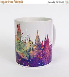 ON SALE 20% OFF Harry Potter Hogwarts Castle Mug by ArtsPrint