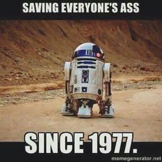 I'm pretty sure Star Wars is just The Adventures of R2D2 and His Sidekick C3PO
