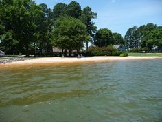 If you are lucky your Lake Norman waterfront home may have a beach!