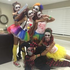 Group theme psycho clowns